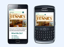 Pennies Antiques Example 3 Responsive Design