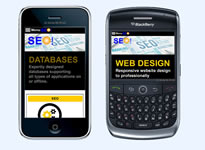 The SEO UK Business Example 2 Mobile Friendly Design