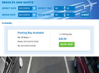 Exeter Airport Car Parking Example 2 Online Booking